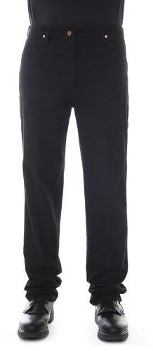 Wrangler Men's Cowboy Cut Slim Fit Jean, Shadow Black, 34x32