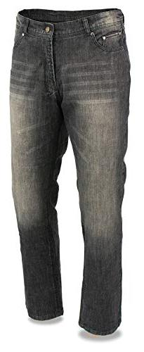 Milwaukee Leather Men's Denim Jeans Reinforced with Aramid