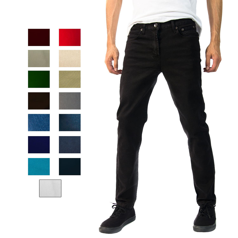 Alta Premium Designer Fashion Mens Slim Fit Skinny Stretch D