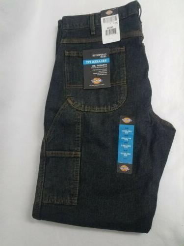 dickie mens relaxed carpenter jeans 36x34 new