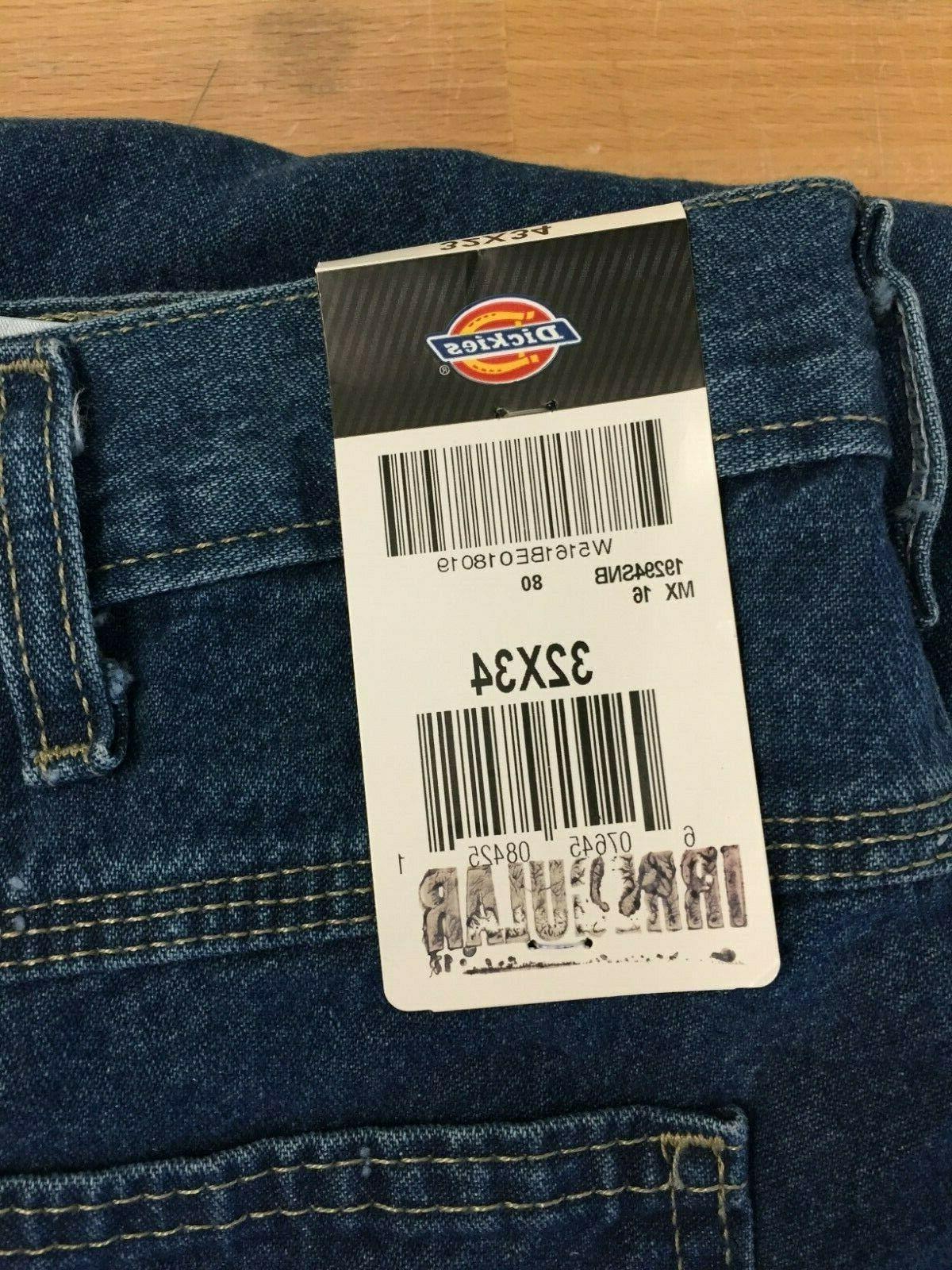 Dickie's Men's Fit Irregular* Jeans