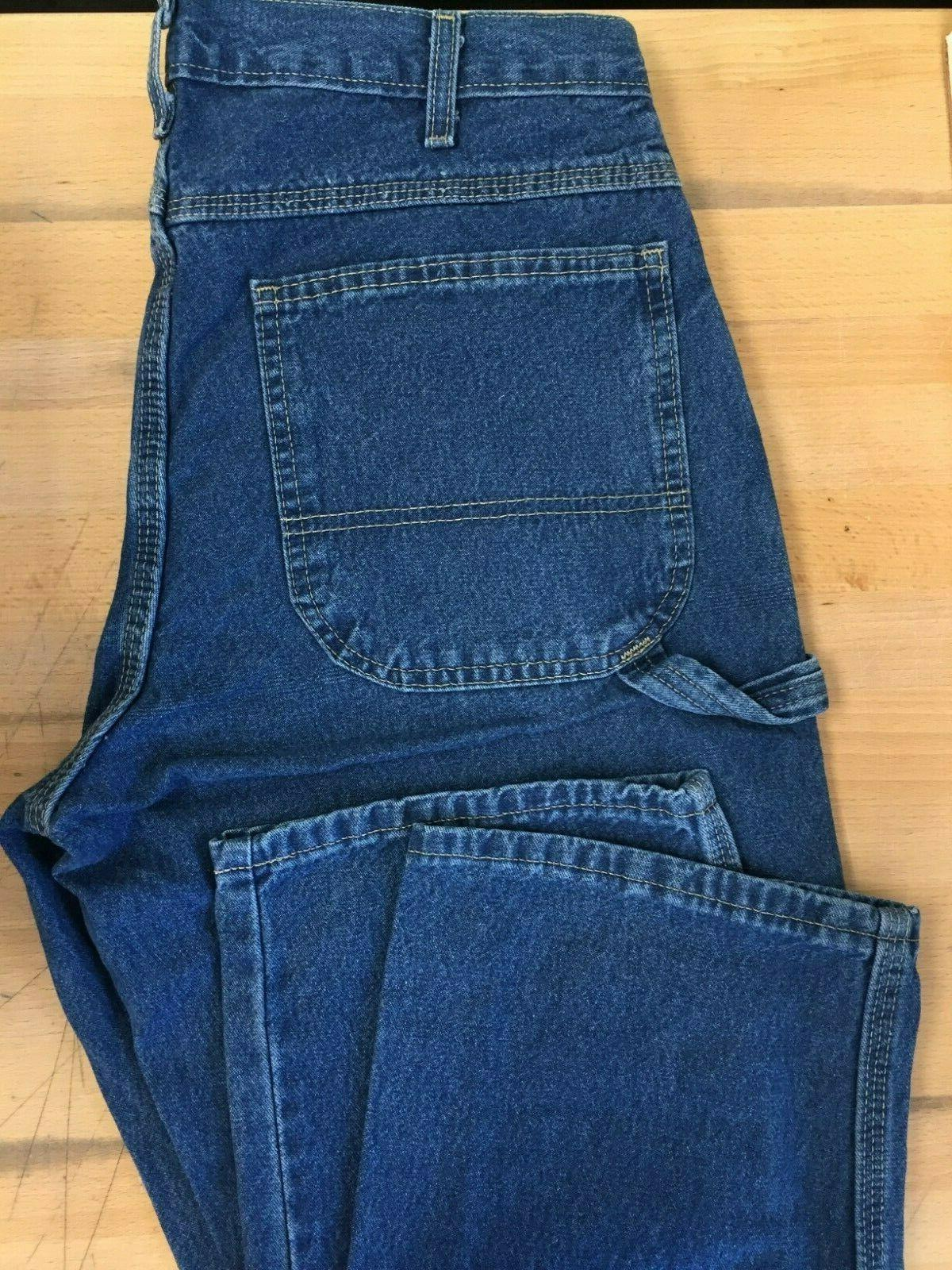 Dickie's Men's Relaxed Straight Fit Carpenter Irregular* Jeans