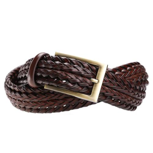 Tanpie Men's Belt Jeans Brown