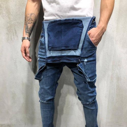 Fashion Jeans Destroyed Frayed Fit Denim US