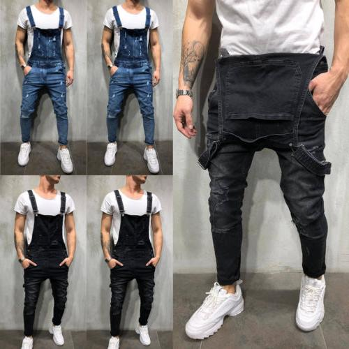 Fashion Jeans Destroyed Fit Denim Pant US