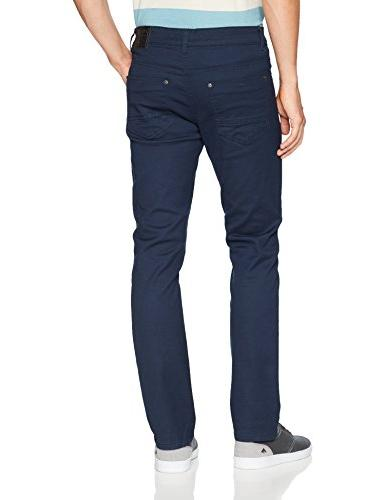 Southpole Basic Twill and Denim Pants, Navy 32X32