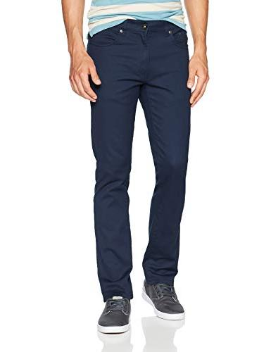 flex stretch basic twill rinse