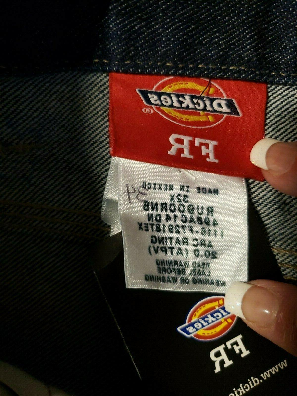 Dickies FR Denim Jeans 32 NWT See