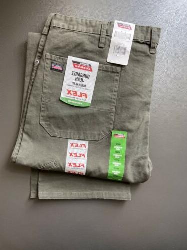 Dickies Green Work Mens Regular 5-Pocket