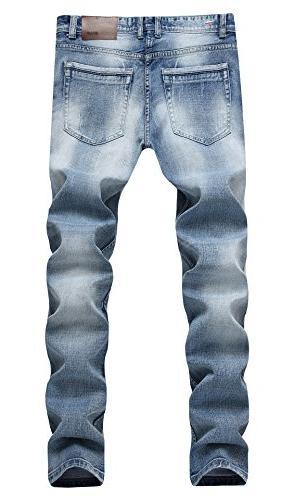 Men's Light Fit Jeans A