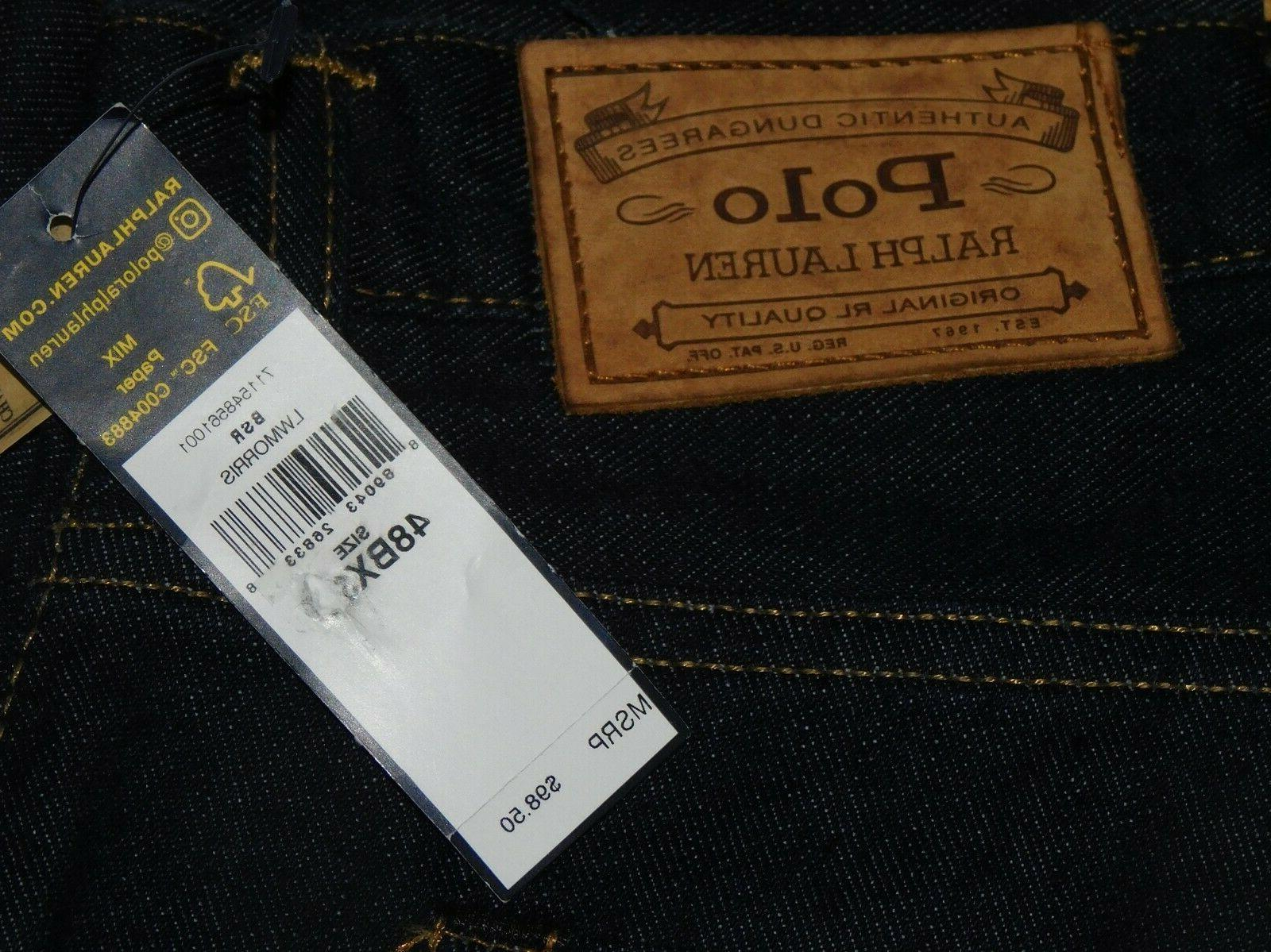 POLO LAUREN Straight Jeans Tall Morris Blue