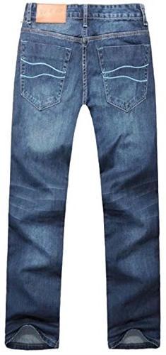 DigerLa Baggy Straight Jeans Pants