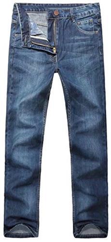 DigerLa Men's Baggy Jeans Blue