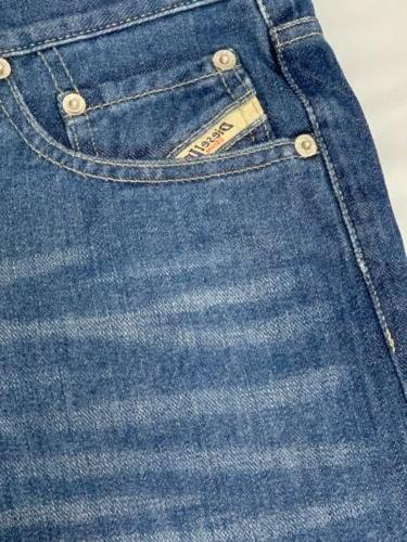 Diesel Industry Jeans NWT Dark Blue Wash