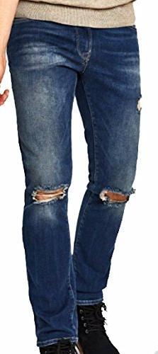 Mavi Men's Jean Jake Slim Leg in Used Ripped Authentic Vinta