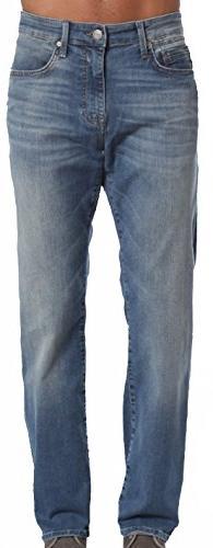 Mavi Men's Jean Myles Straight Leg In Mid Shaded Williamsbur