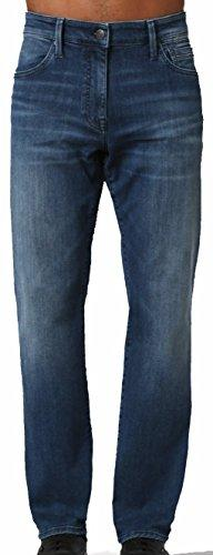 Mavi Men's Jean Myles Straight Leg in MID Tonal Williamsburg