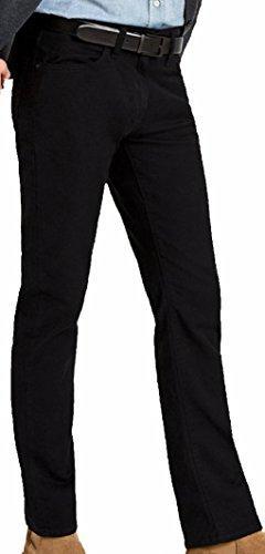 Mavi Men's Jean ZACH Straight Leg in Black Williamsburg Jean