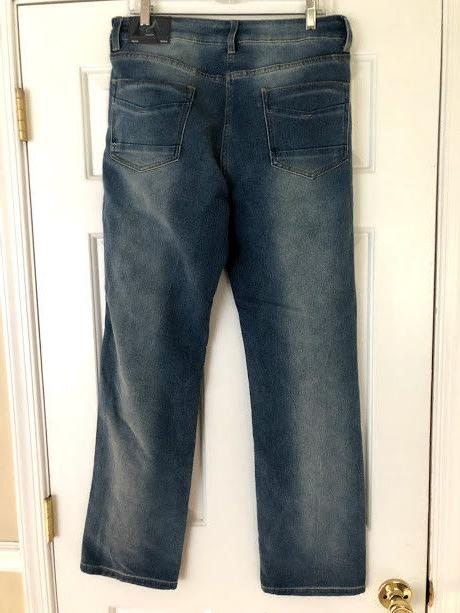 AGILE JEANS STRAIGHT 34 X 32 WITH TAGS