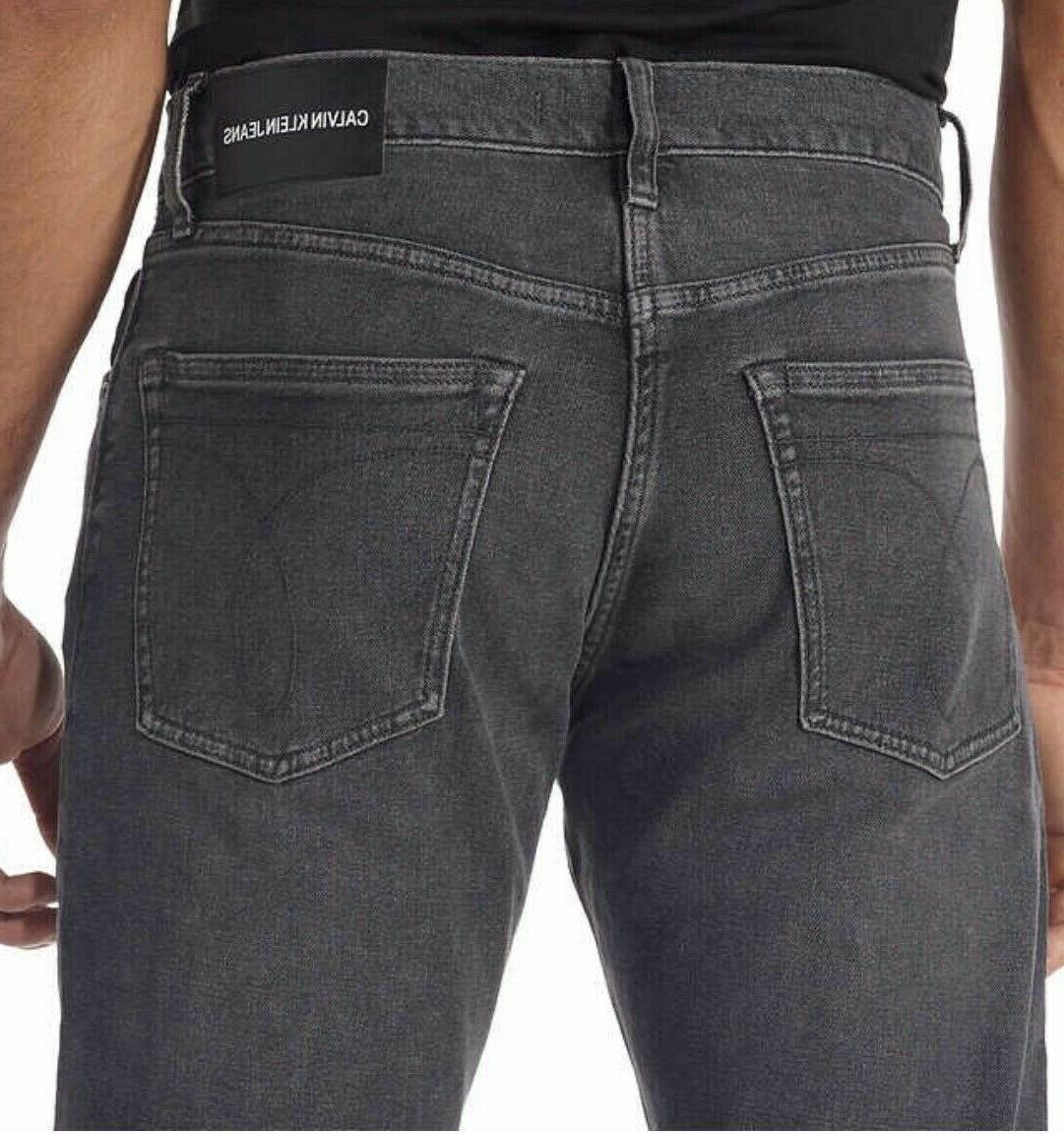 Calvin Jeans CKJ035 Straight Jeans - Grey/Various Sizes