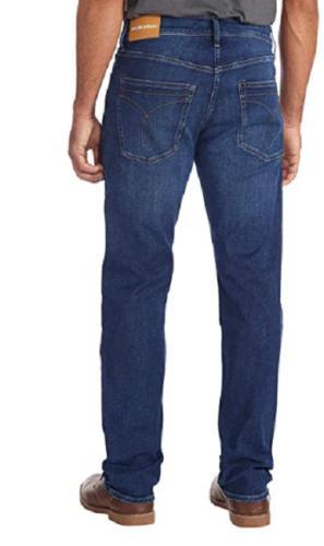 Calvin Jeans Men's Straight Fit Blue