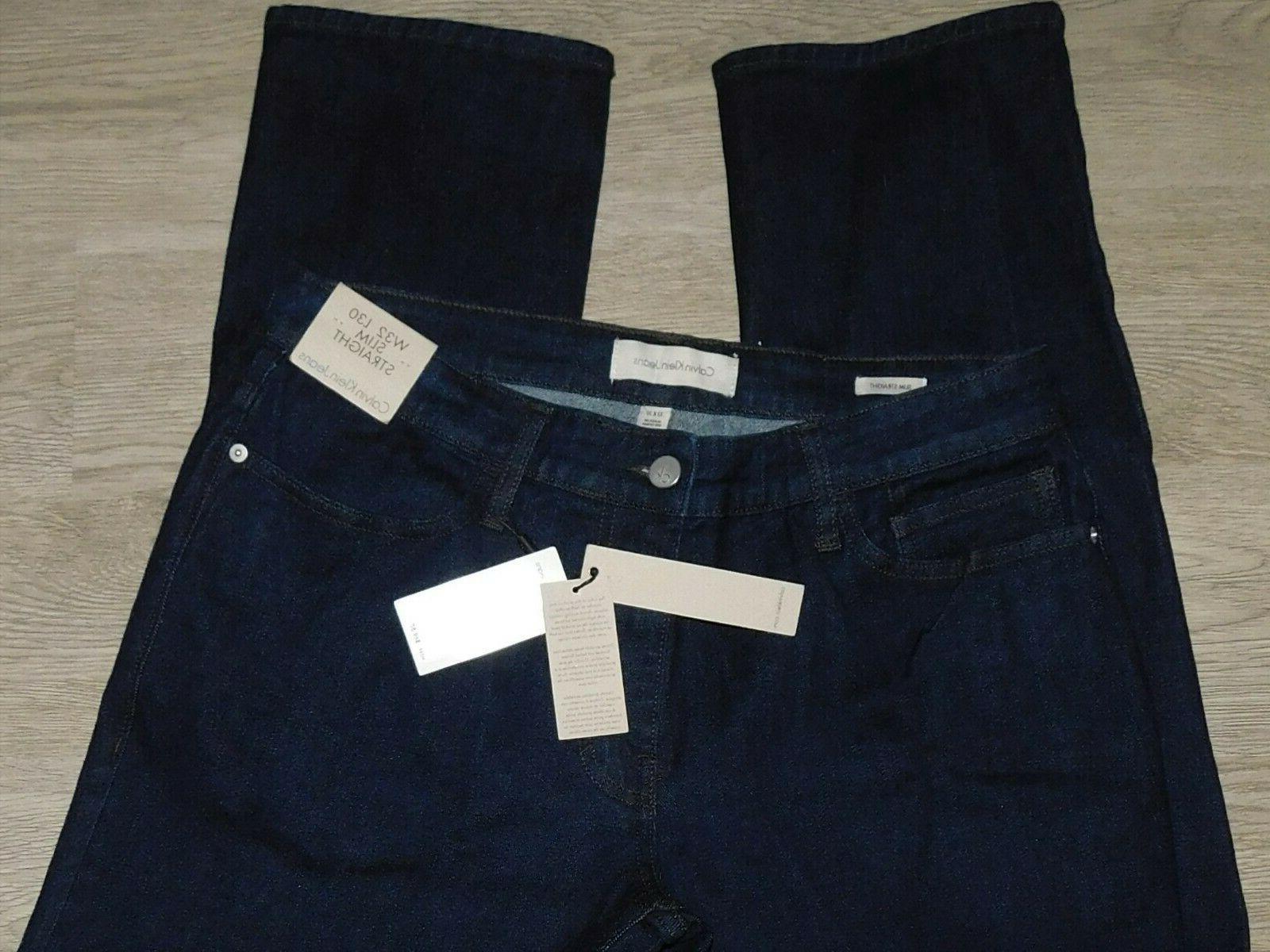 Calvin Jeans Slim Rinse $69 32x30
