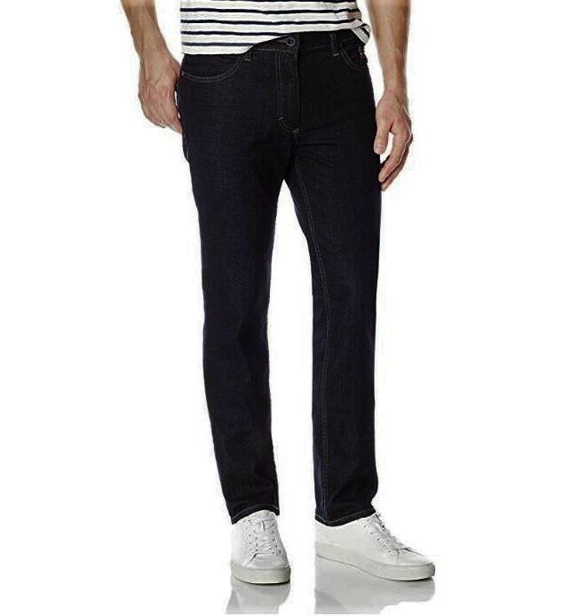 Calvin Klein Jeans Slim Straight Rinse Dark Blue $69 32x30