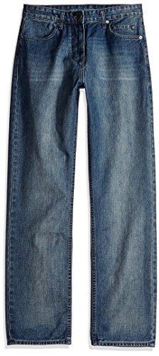 Calvin Klein Jeans Men's Relaxed Fit Jean, Chalked Indigo, 3