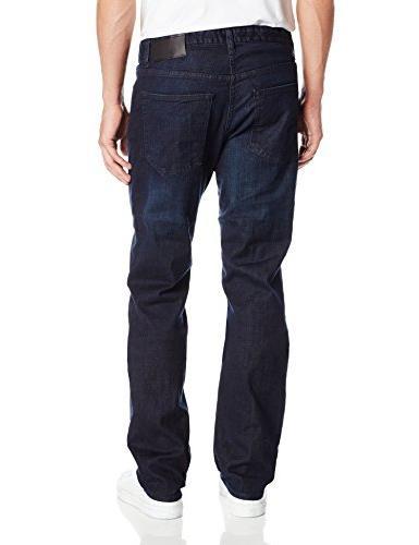 Calvin Klein Men's Straight Pant, Osaka Blue, 32W x