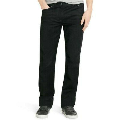 Calvin Klein Jeans Men's Straight Leg Jean In Worn Black, Wo