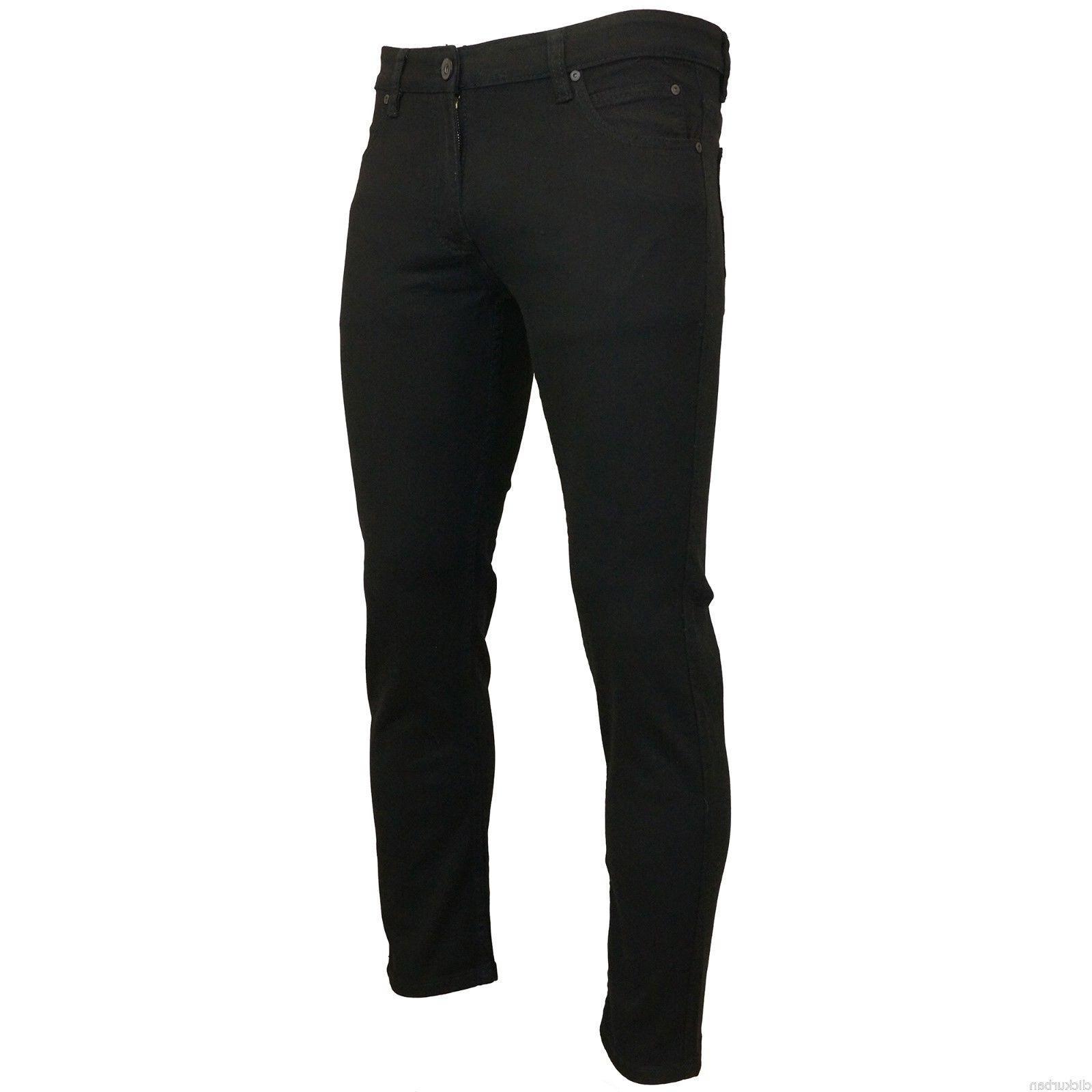 KAYDEN.K JET Skinny Stretch Denim Jeans Pants Size 28-42