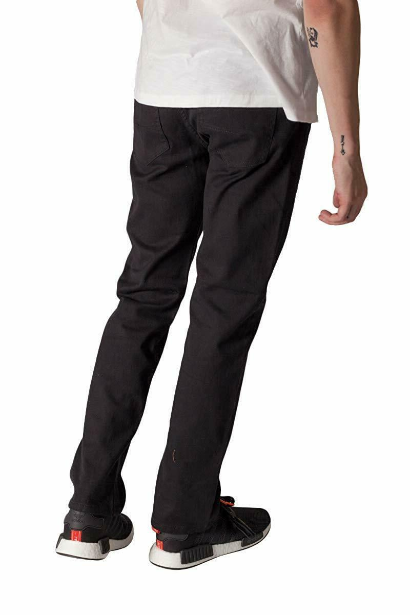 KAYDEN.K Men's Slim Jeans Twill Pants Size 30 40