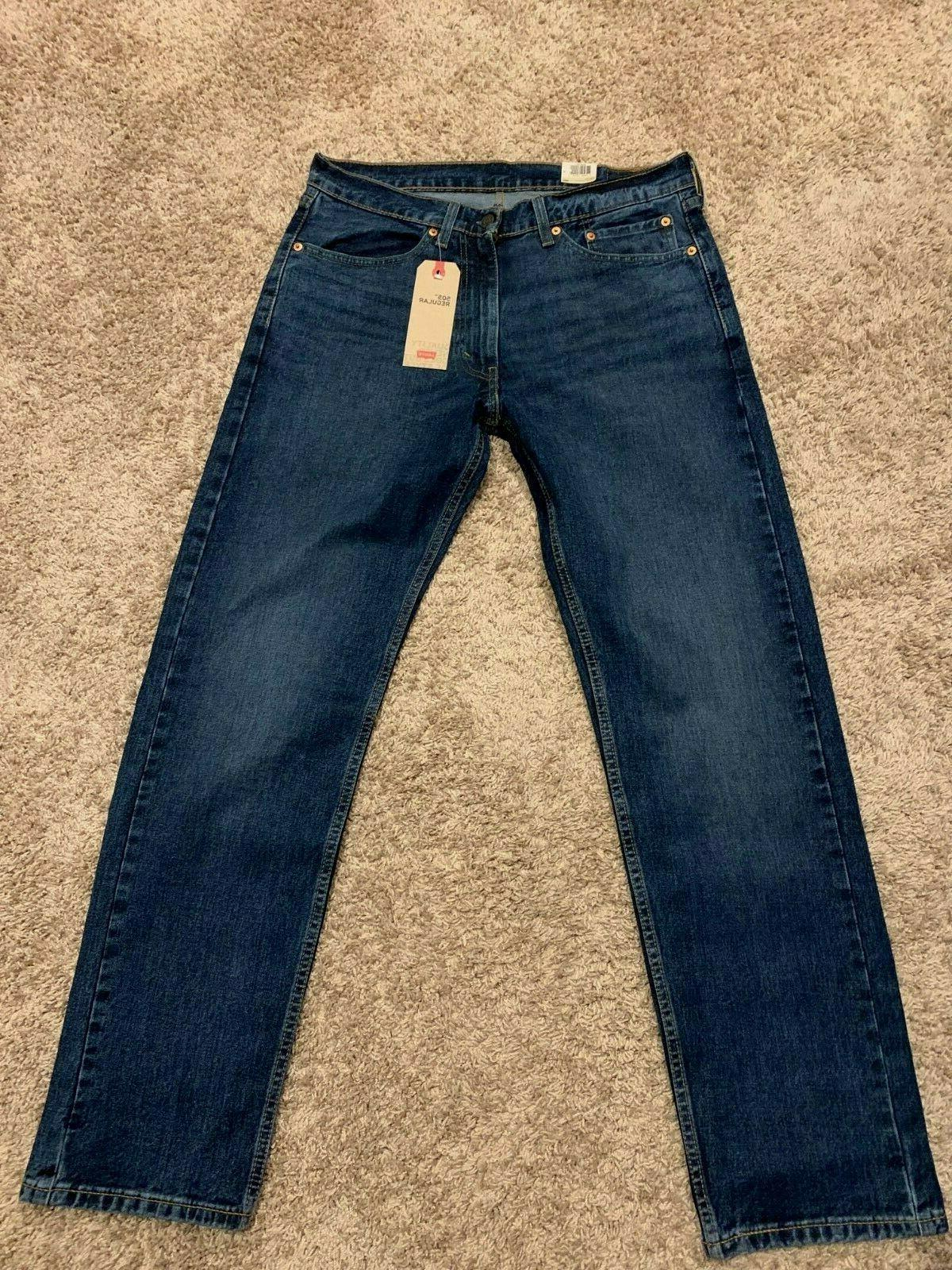 Levi's Men's Regular Fit Straight Leg NWT
