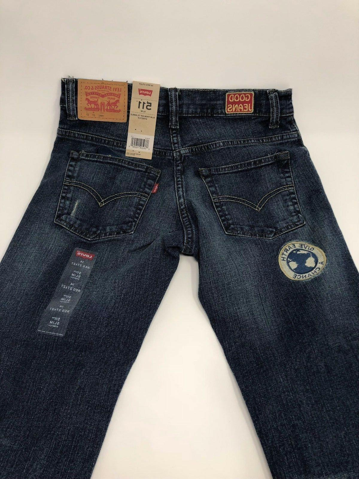 Levi's 511 Boy's Patched Falls