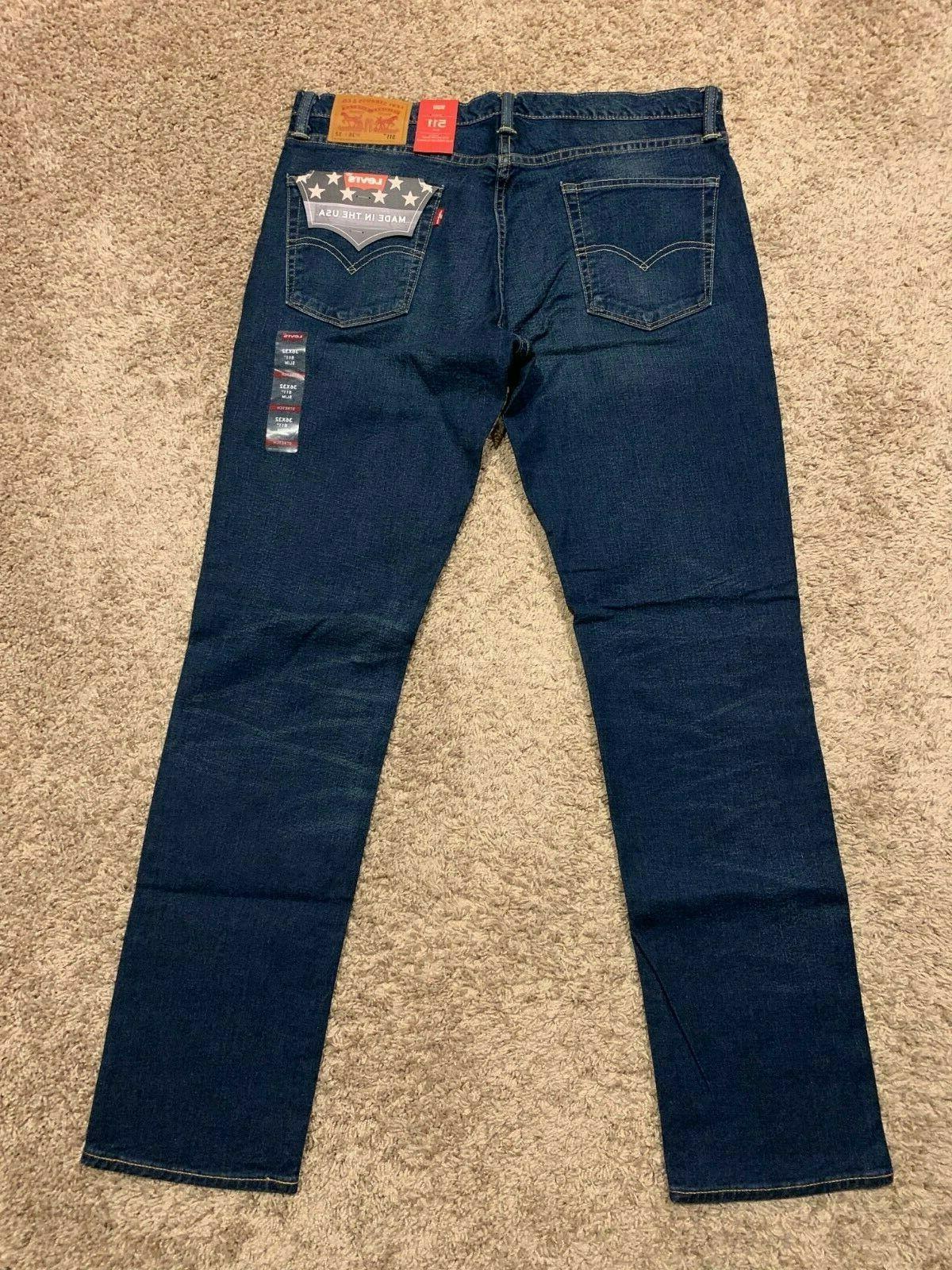 Levi's Slim Made White Oak Cone Jeans