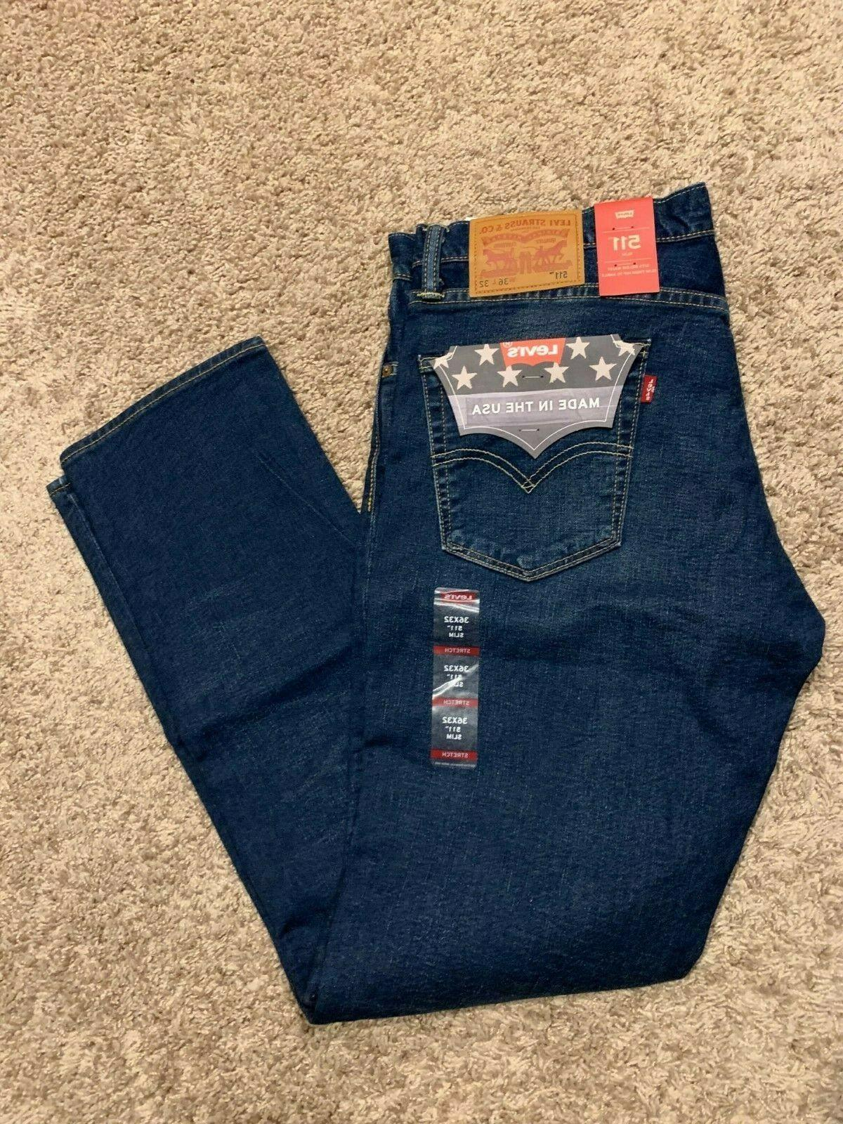 levi s 511 slim fit made in