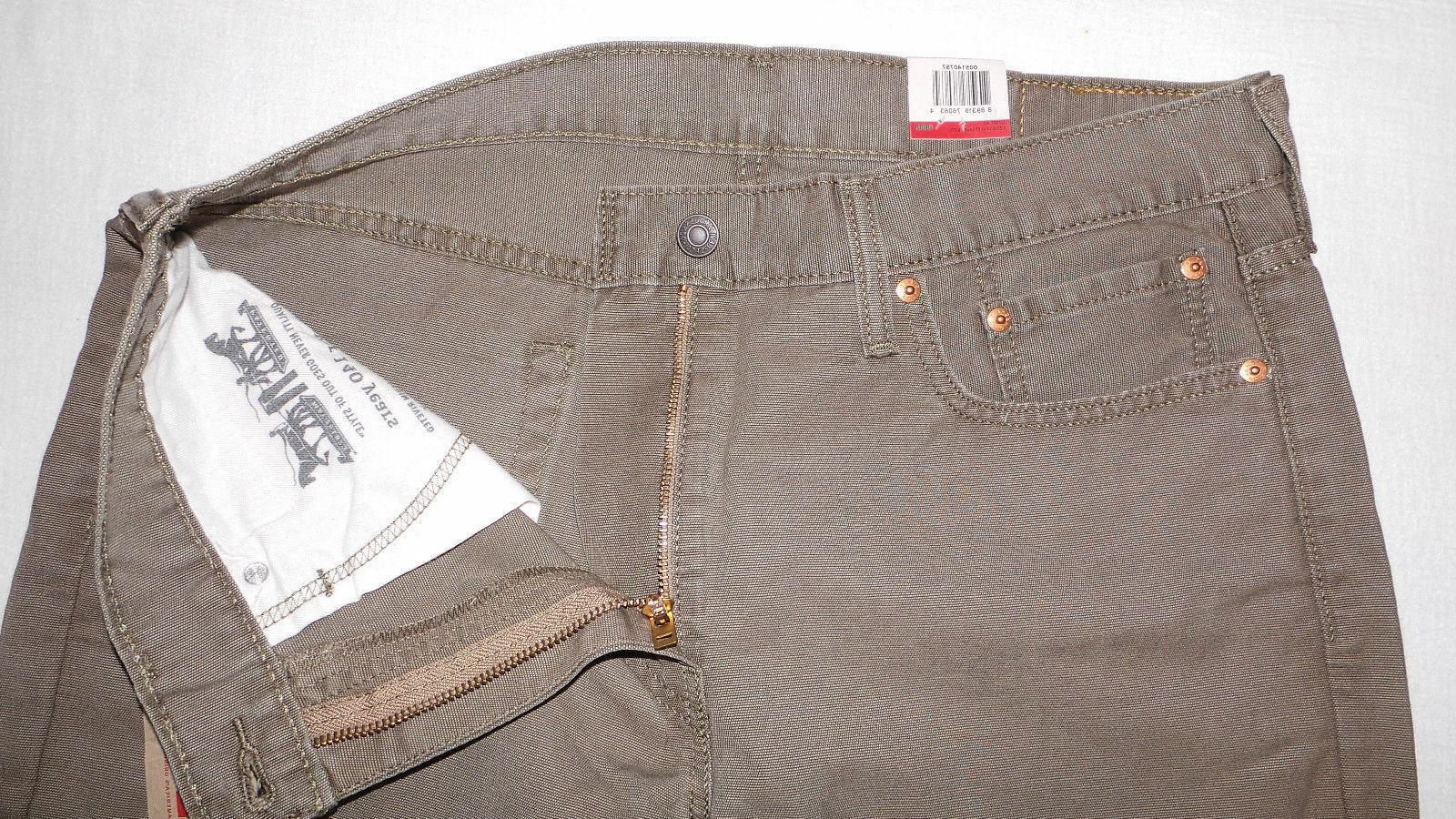 LEVI'S 514 MEN'S STRAIGHT PADOX CANVAS PANTS