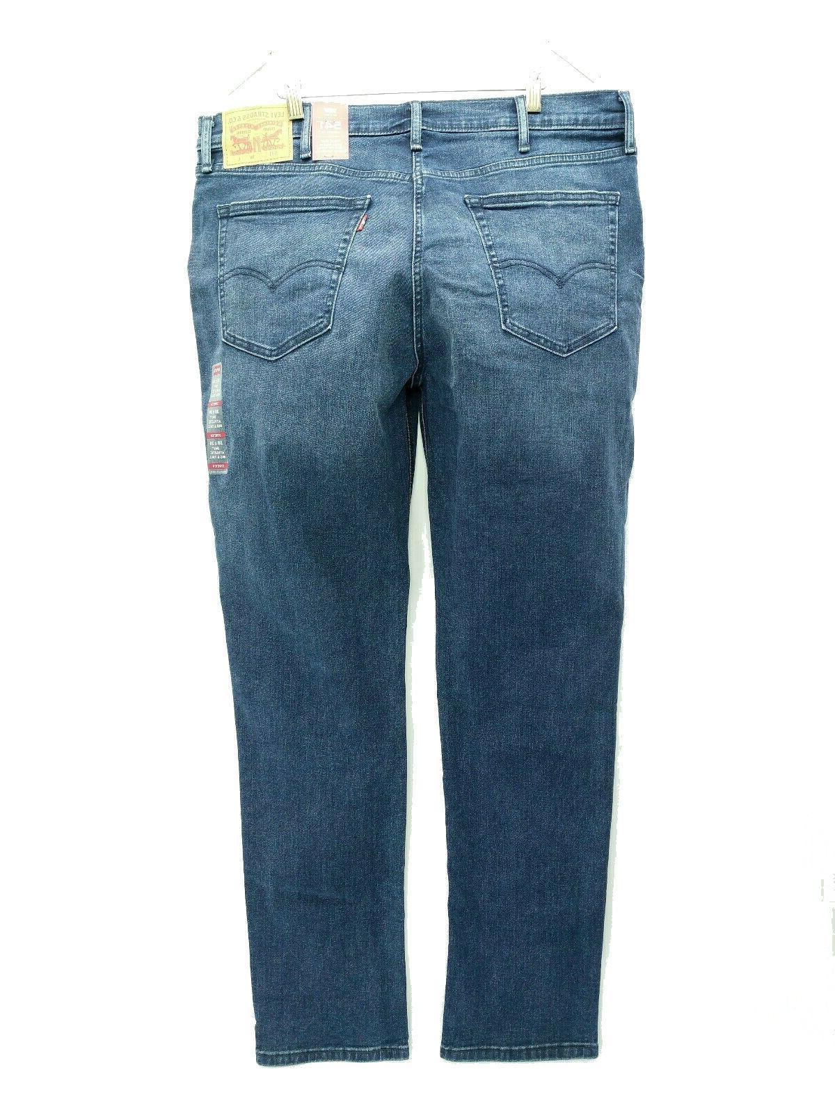 Levi's 541 Jeans Men's Blue Stretch Denim Fit Tall MSRP $79.50
