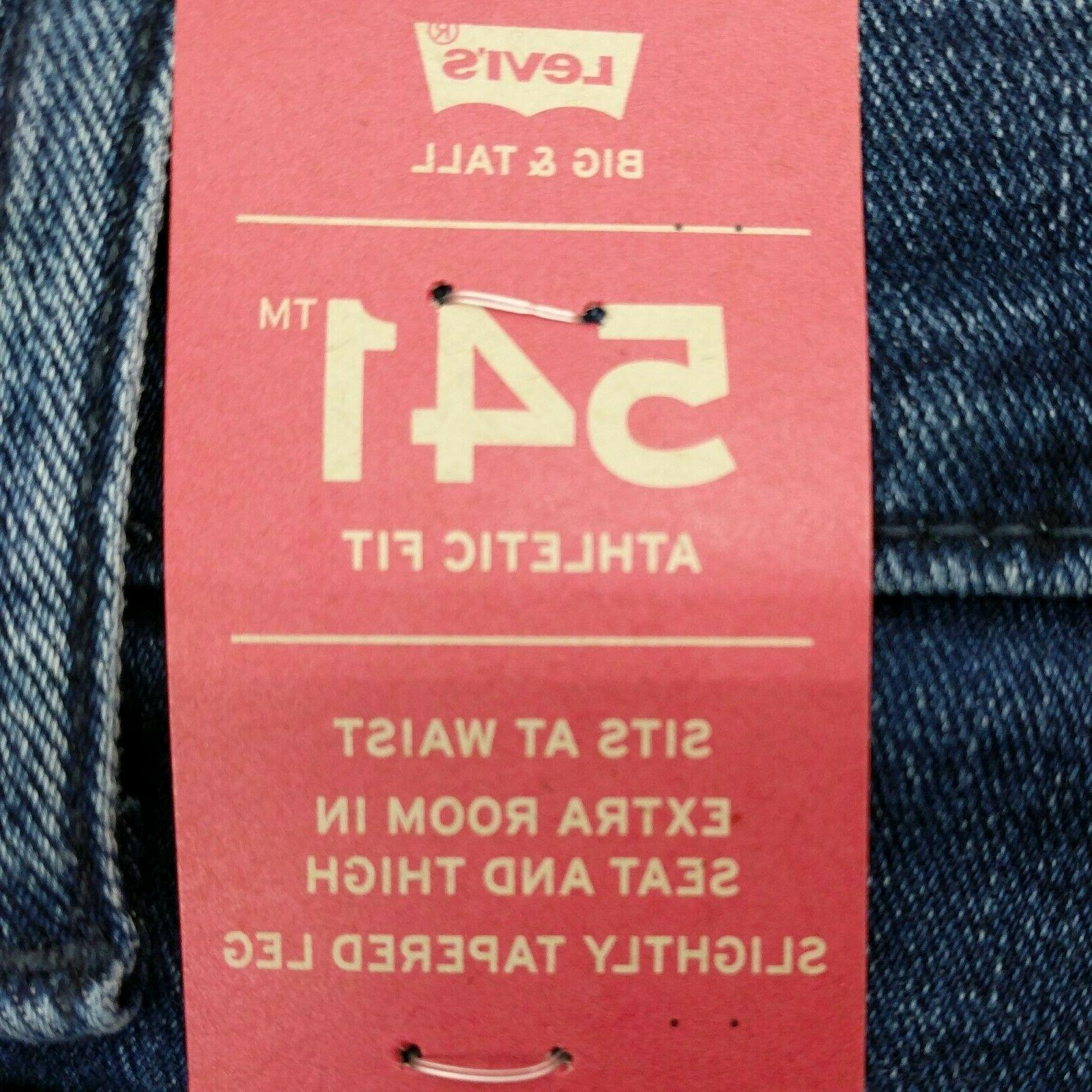 Levi's 541 Blue Fit And MSRP