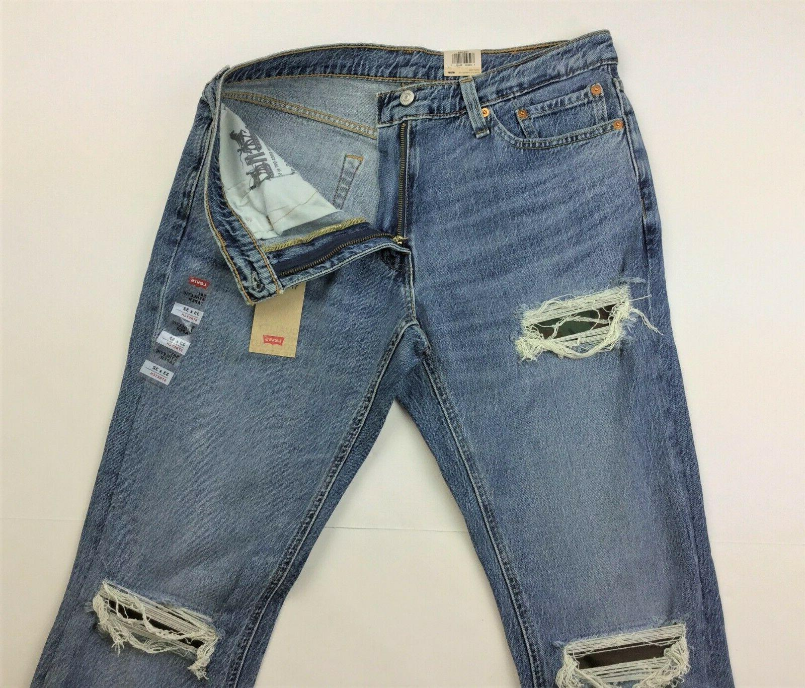 Levi's Levis 541 Athletic Military Camo Patch Distressed