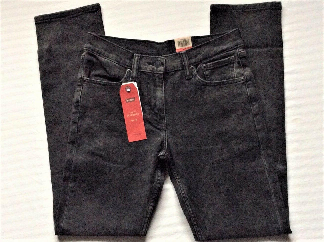 Levi's Men's 2377 Black Acid Slim Stretch Jeans
