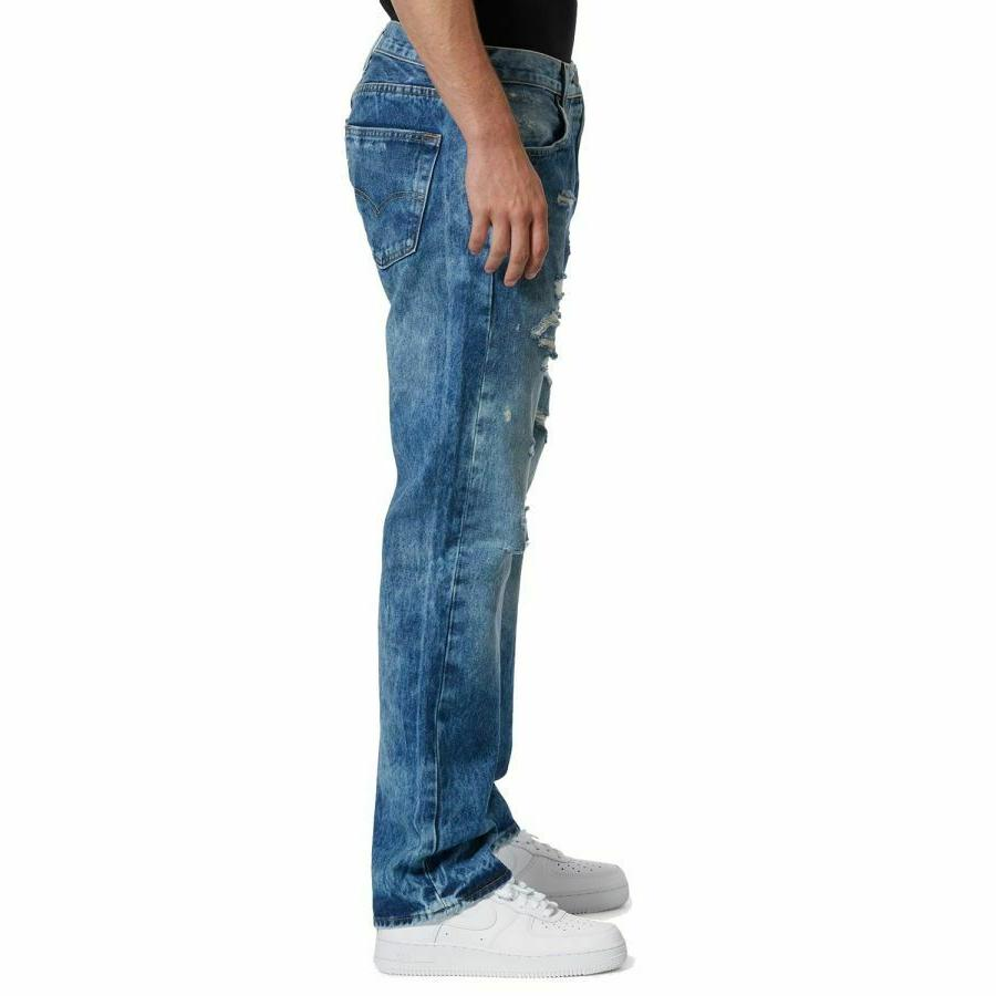 Levi's Blue Original Fit Ripped Classic Straight NWT