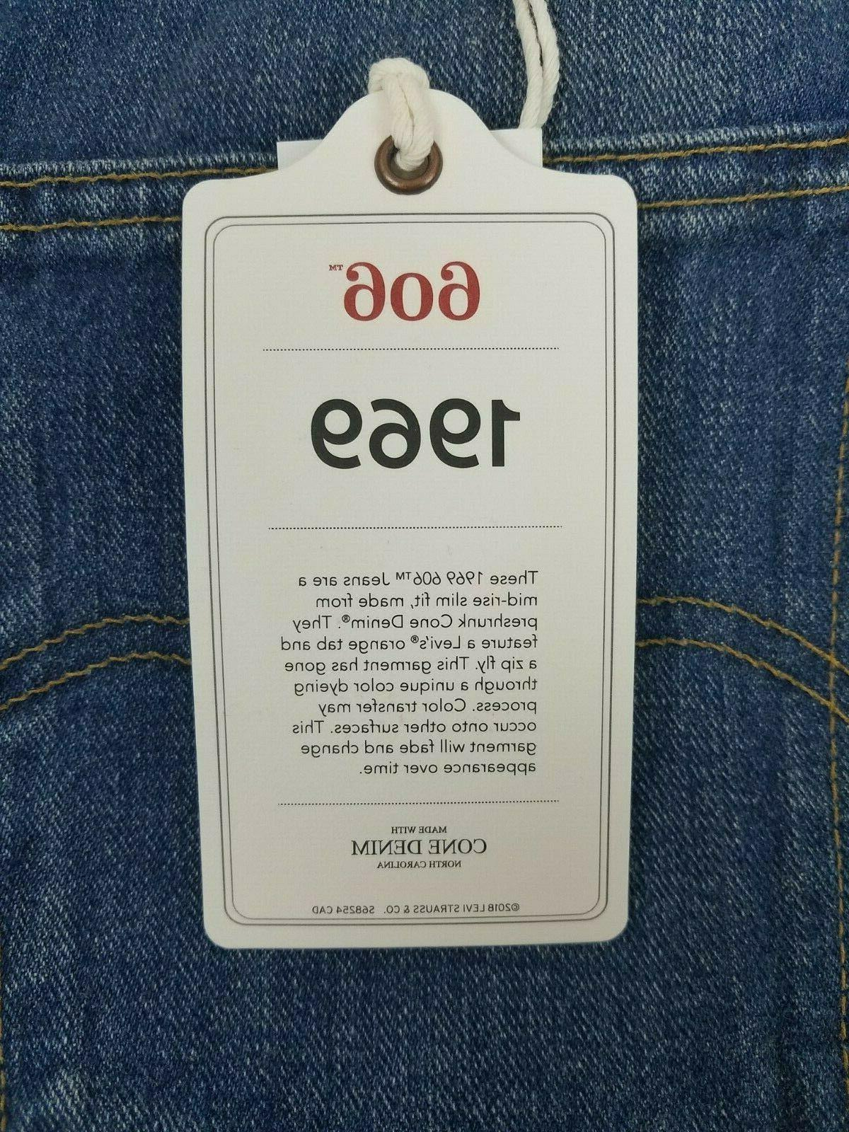 Levi's Clothing 1969 Orange Tab Fit Jeans MSRP