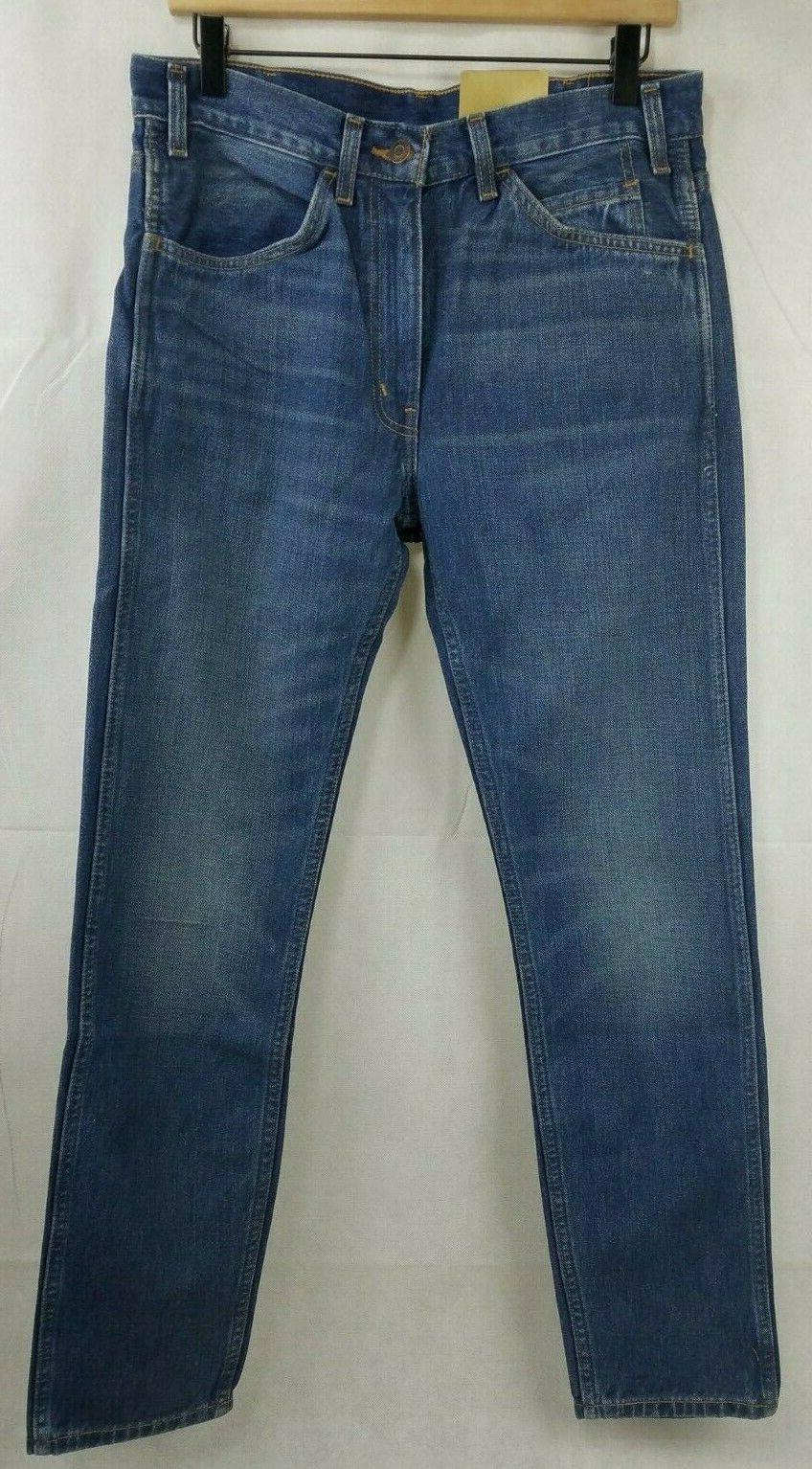 Levi's Vintage Clothing 1969 Orange Tab Slim Fit Jeans NWT MSRP $198