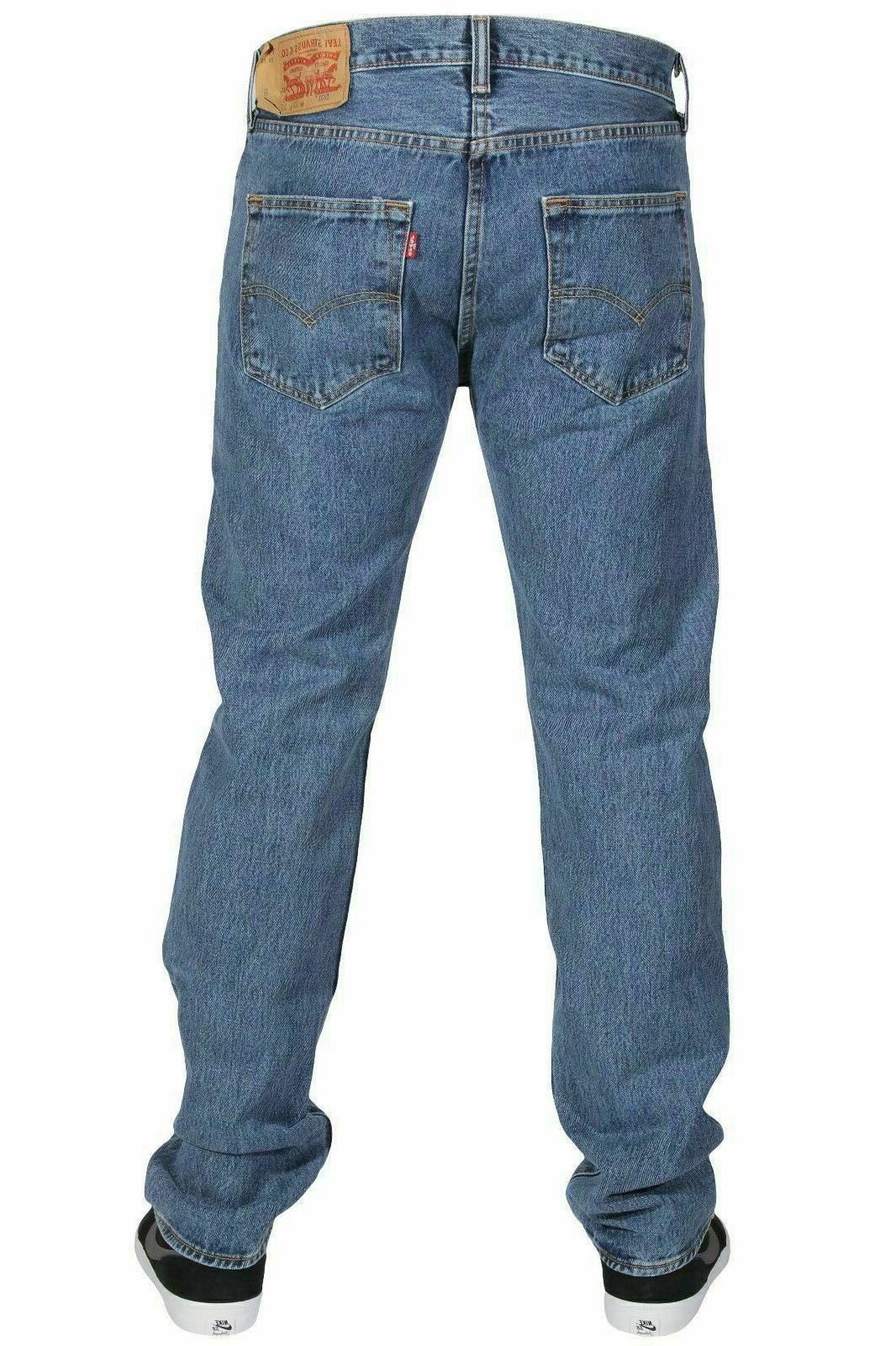 Levis Levi's Original Straight Leg Denim Medium #0193