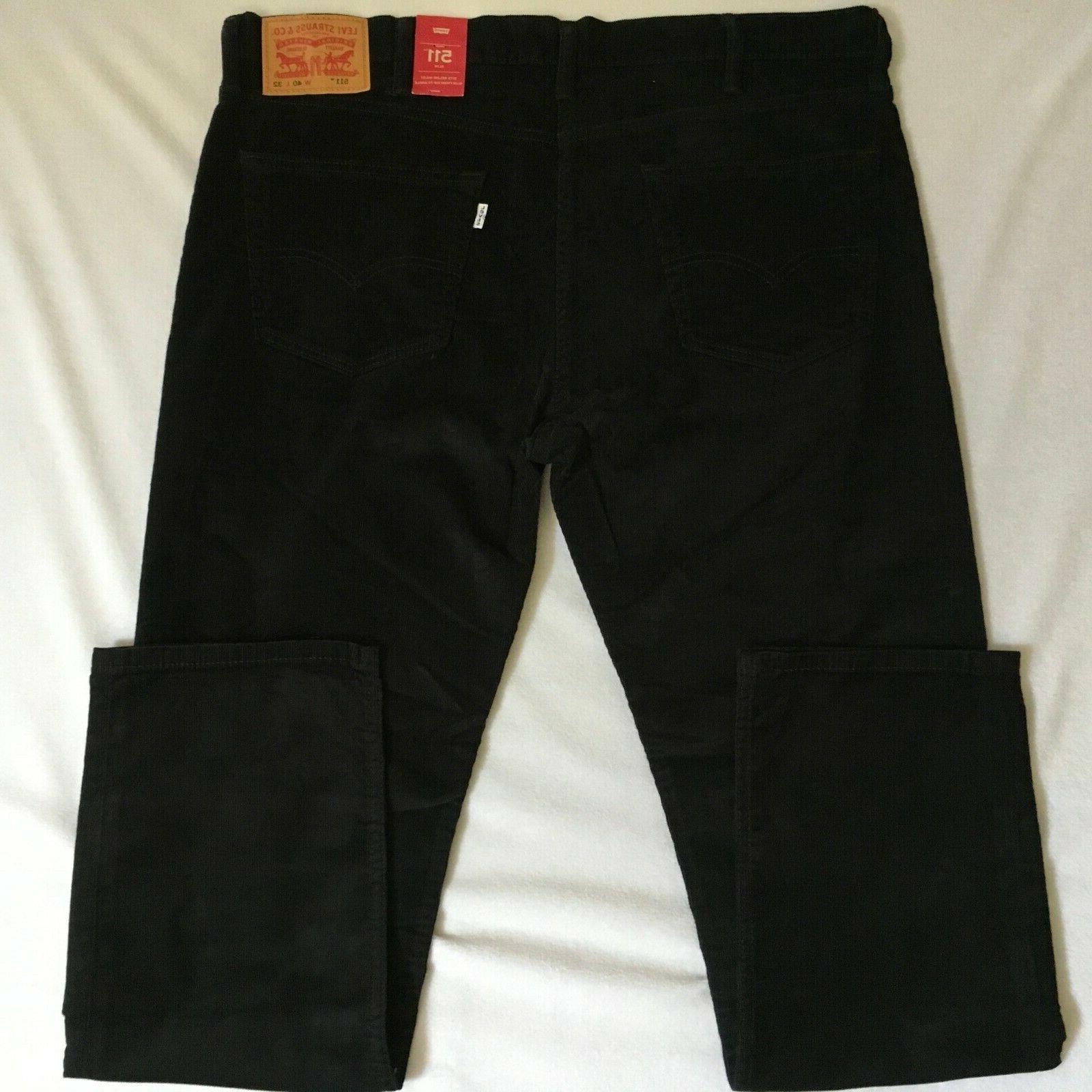 Levis Fit Black Pants NWT $69.50