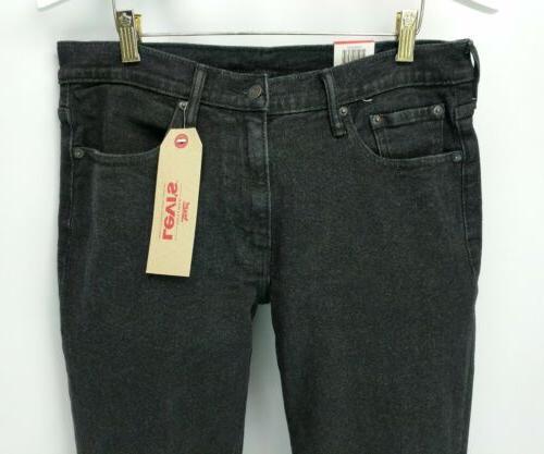 Levis 514 32x32 denim black jeans straight $69.50 A47