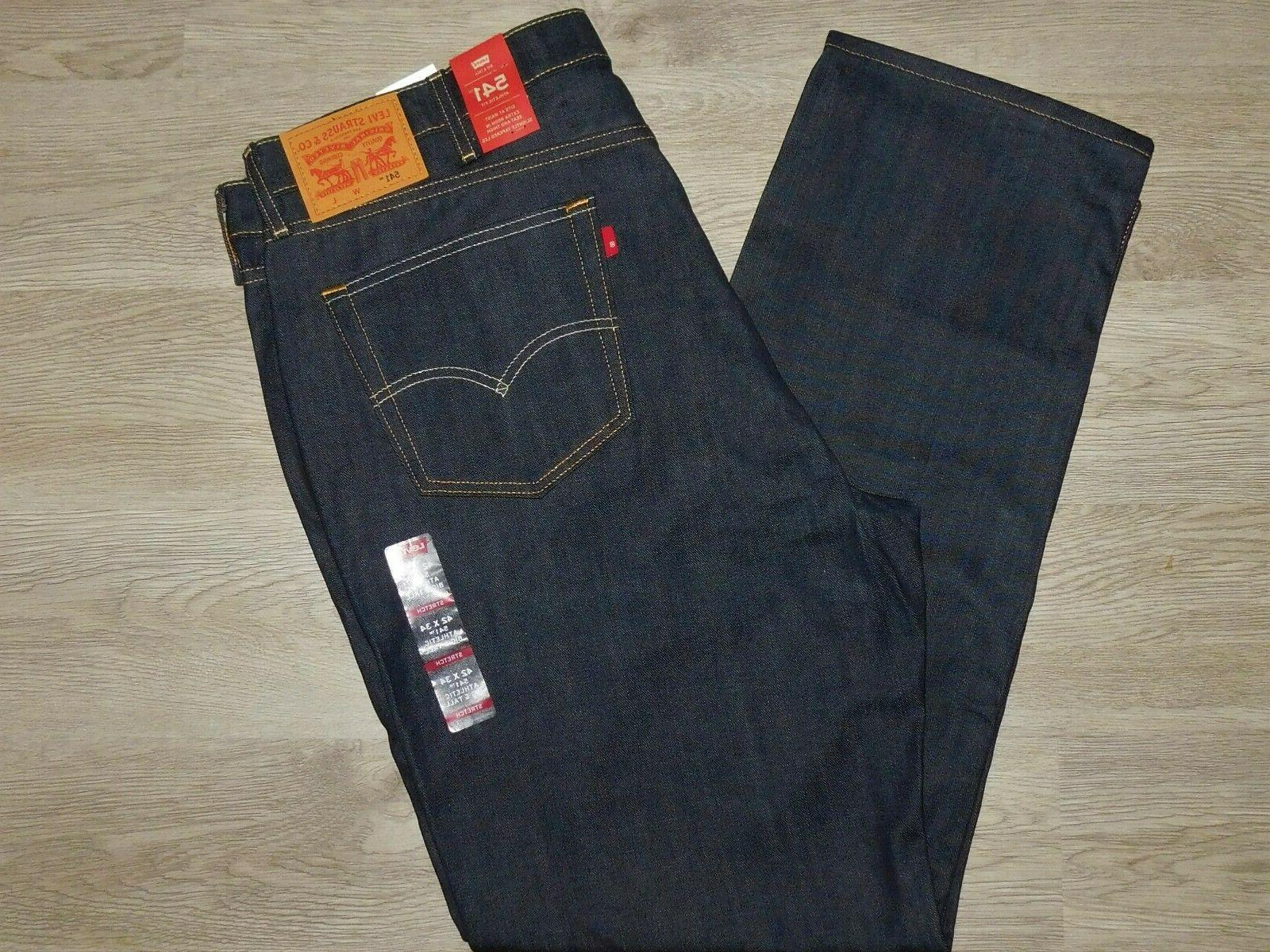 levis 541 athletic fit jeans stretch tapered