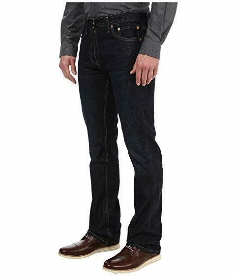 Levis Mens Fit Boot Jeans Dark 34X32