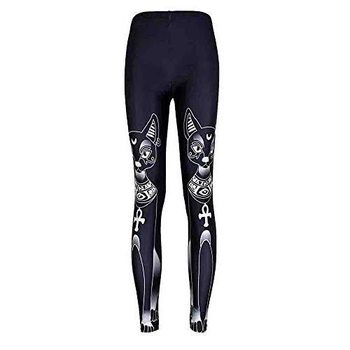 Lightning Deals! DEATU Fashion Chic Gothic Leggings